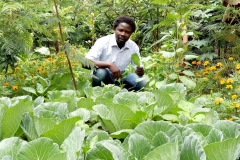 philip munyasia in Amani (peace) garden