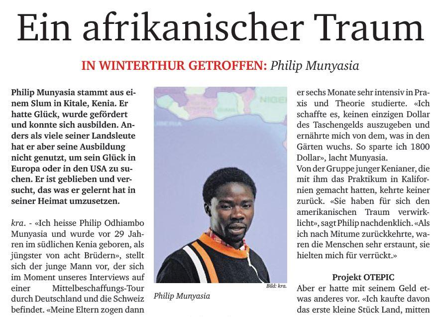 An African dream | Ein afrikanischer Traum