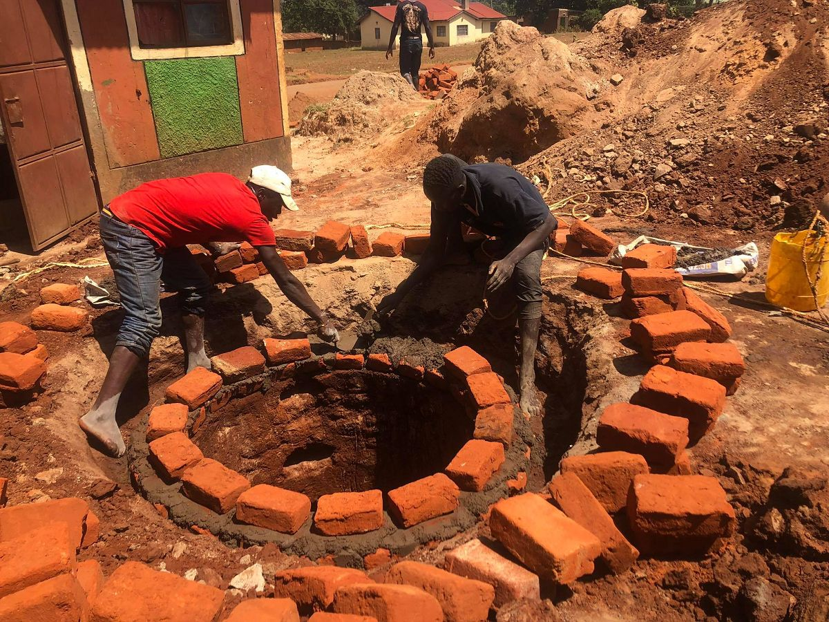 Another drinking water well is created